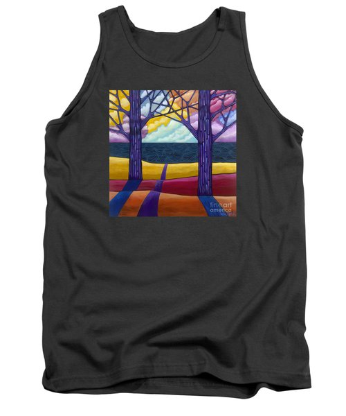 Tank Top featuring the painting Together Forever by Carla Bank