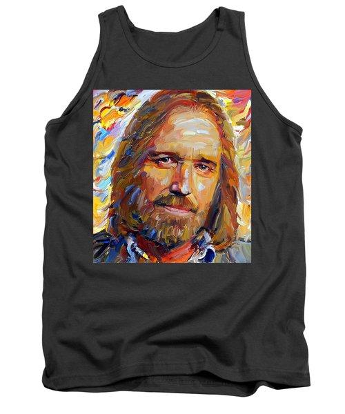 Tom Petty Tribute Portrait 1 Tank Top