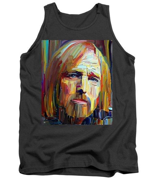 Tom Petty Tribute Portrait 4 Tank Top