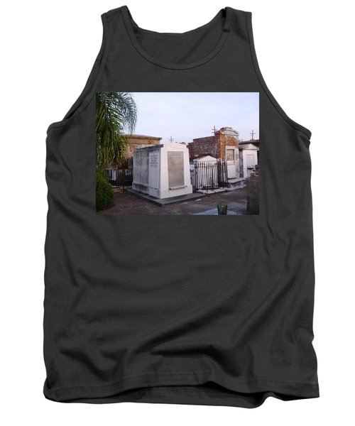 Tombs In St. Louis Cemetery Tank Top