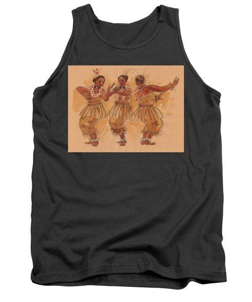 Tonga Dance From Niuafo'ou Tank Top