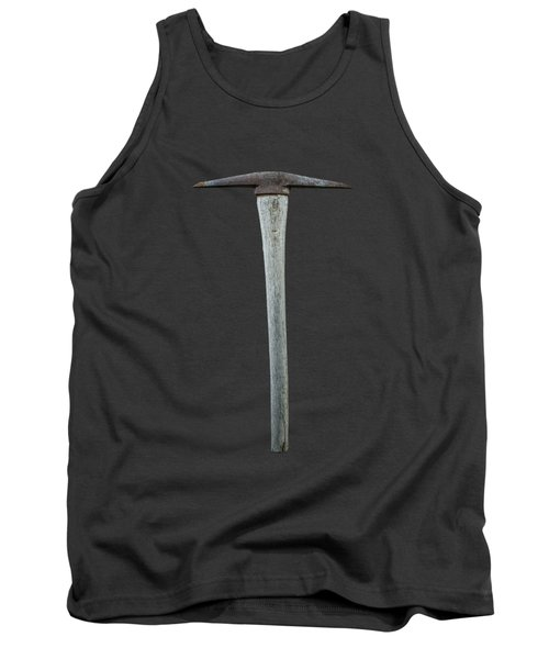 Tank Top featuring the photograph Tools On Wood 13 On Bw by YoPedro