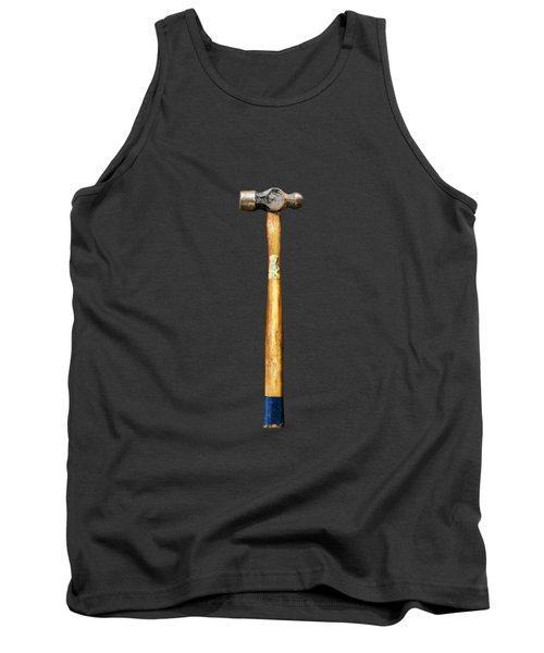 Tank Top featuring the photograph Tools On Wood 51 On Bw by YoPedro
