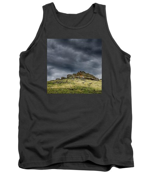 Top Of The Mountain Tank Top by Mary Angelini