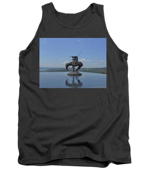 Top Of The Rock Infinity Pool Tank Top by Julie Grace