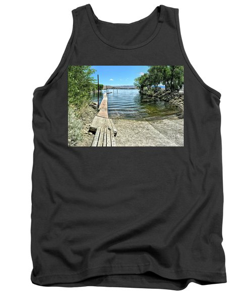 Topaz Landing Boat Launch Tank Top
