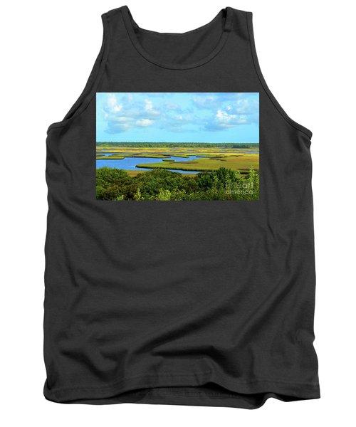 Topsail Island Marshland Tank Top