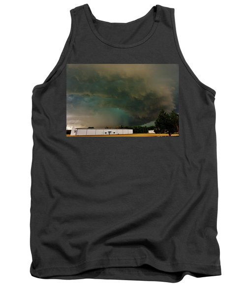 Tornadic Supercell Tank Top by Ed Sweeney