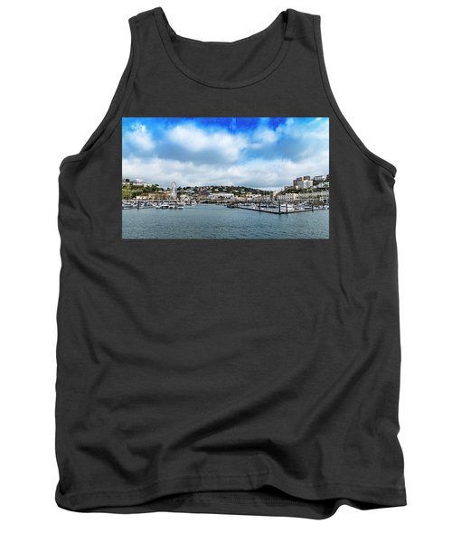 Tank Top featuring the photograph Torquay Devon by Scott Carruthers
