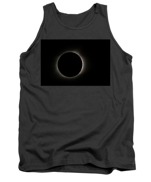 Total Eclipse Solar Flares Tank Top