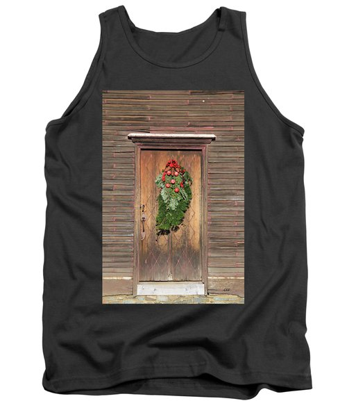 Touch Of Christmas Tank Top