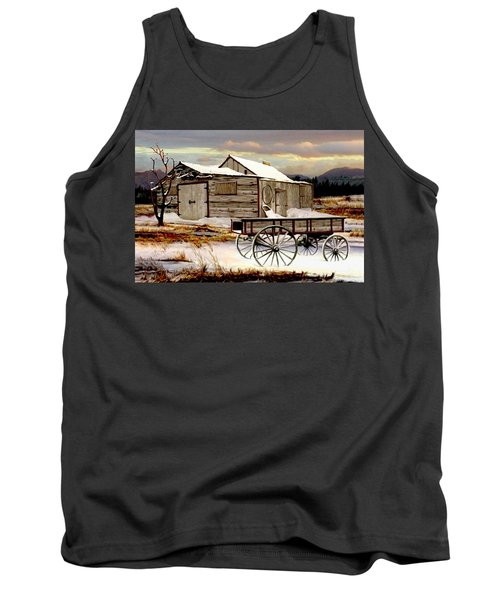 Touch Of Spring Tank Top by Ron and Ronda Chambers