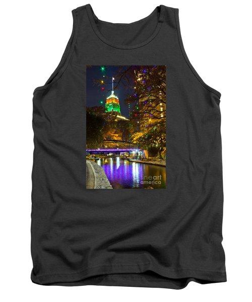 Tower Life Riverwalk Christmas Tank Top