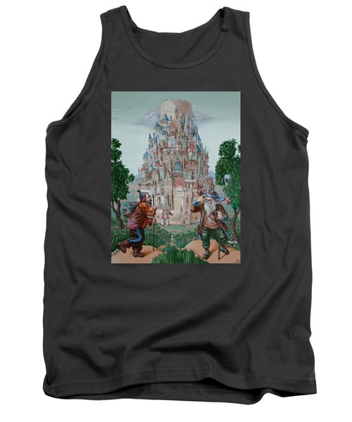 Tower Of Babel Tank Top