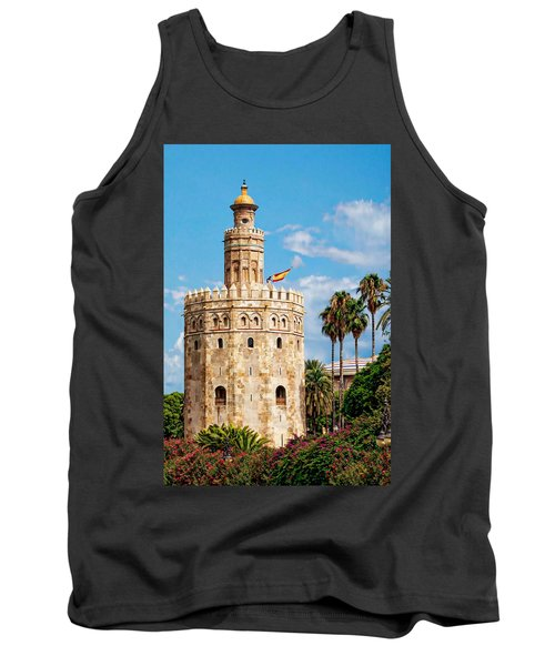 Tower Of Gold Tank Top