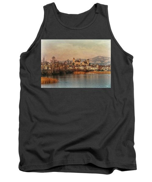Tank Top featuring the photograph Town Of Roses by Hanny Heim