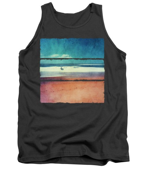 Traces In The Sand Tank Top