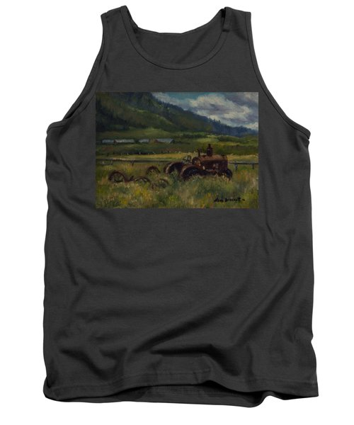 Tractor From Swan Valley Tank Top