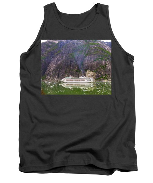 Tank Top featuring the photograph Tracy Arm Fjord by Jim Mathis