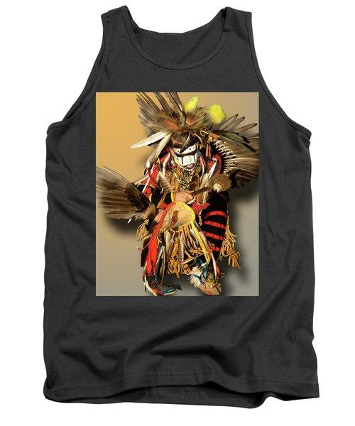 Traditional Native American Dancer Tank Top