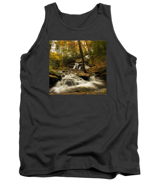Tank Top featuring the photograph Trahlyta Falls by Barbara Bowen