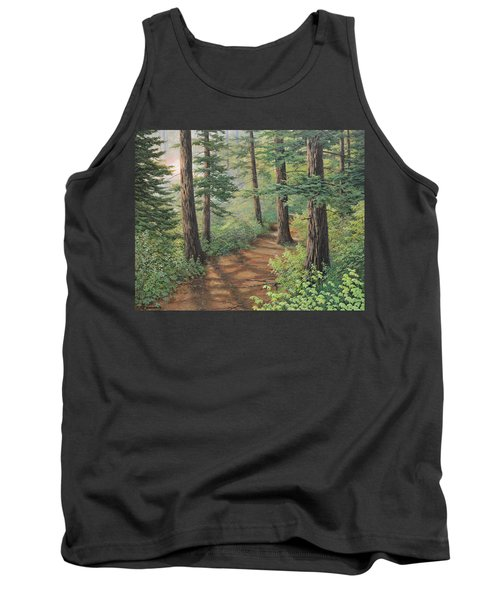 Trail Of Green Tank Top