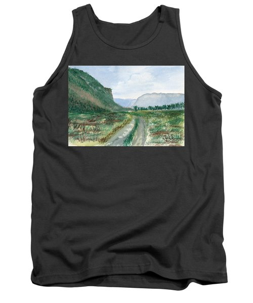 Trail To Canada Tank Top
