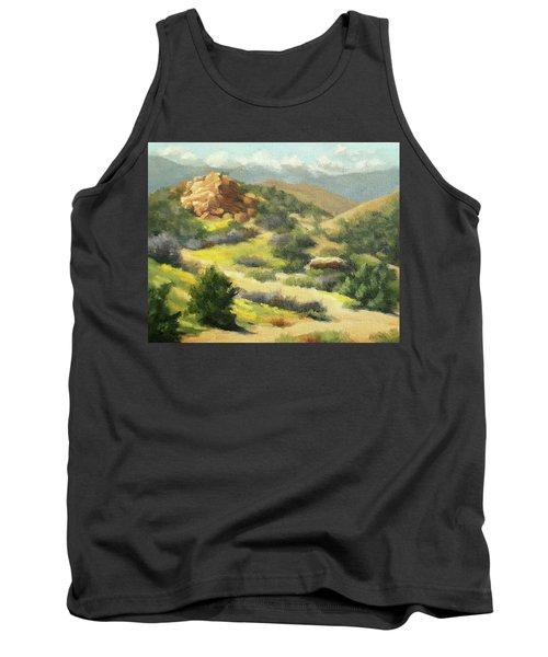 Trails Of Vasquez Canyon Tank Top