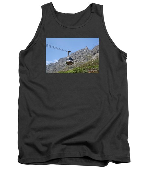 Tramway To Cable Mountain Tank Top by Bev Conover