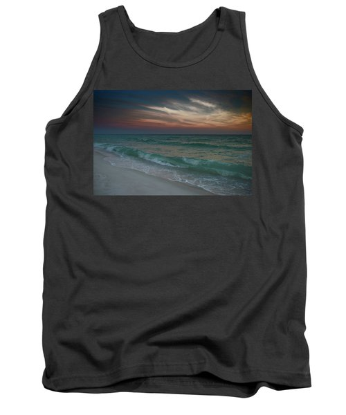 Tranquil Evening Tank Top by Renee Hardison