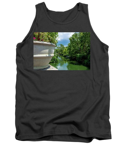 Tranquil Garden Tank Top