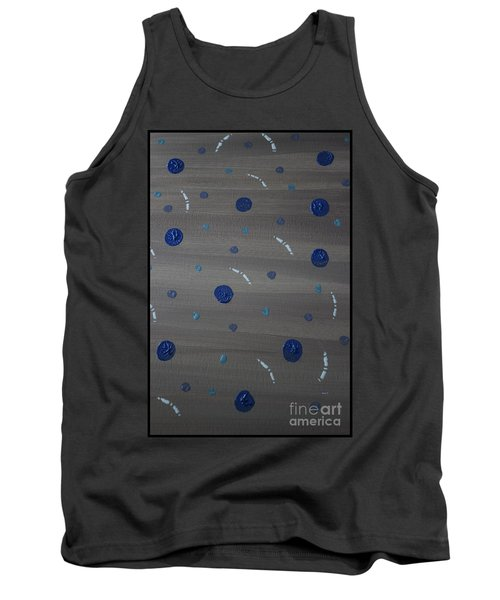 Tranquil Acrylic Abstract Tank Top