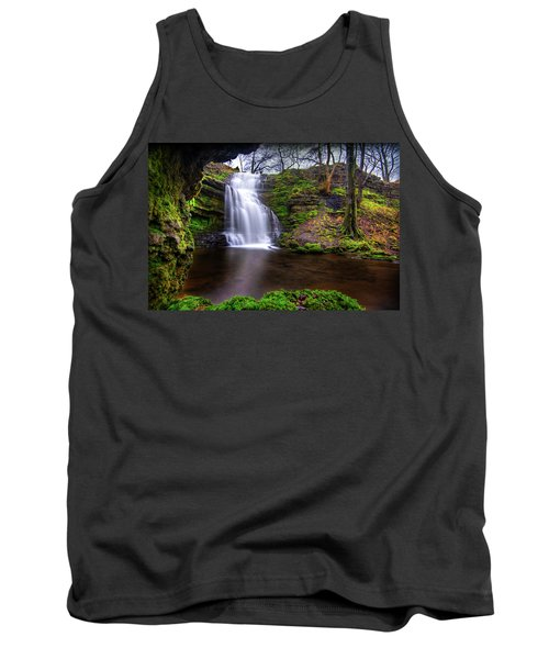 Tranquil Slow Soft Waterfall Tank Top