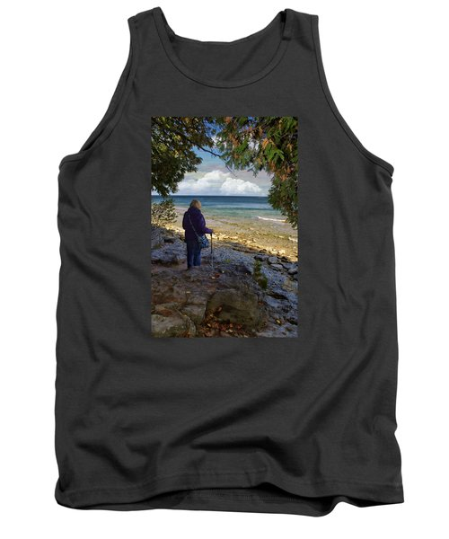Tranquility Tank Top by Judy Johnson