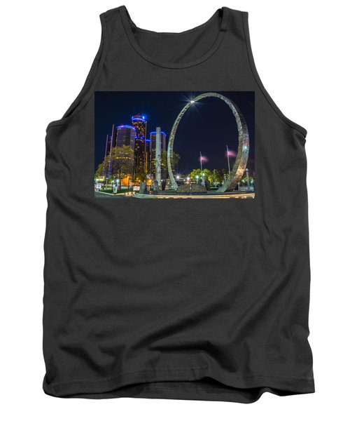 Transcend Detroit  Tank Top