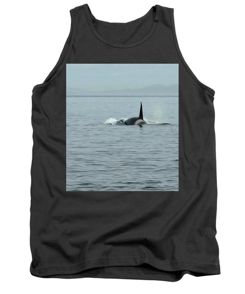 Transient Killer Whale Tank Top by Brian Chase