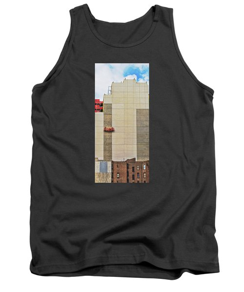 Transition From Old To New In New York Tank Top by Gary Slawsky