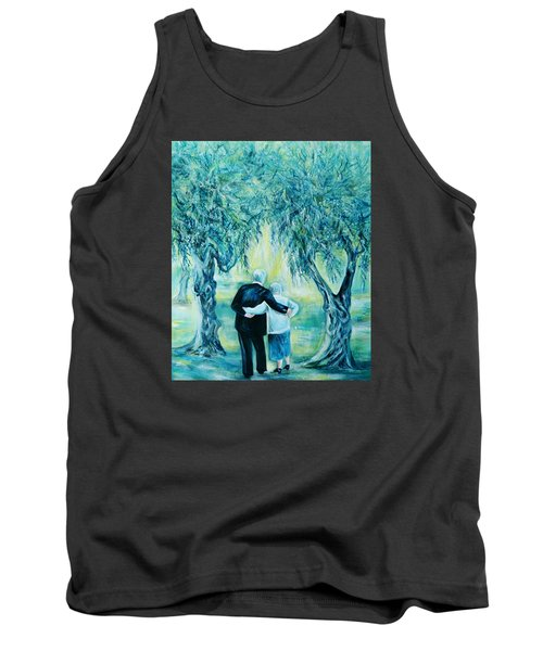 Travel Notebook.olive Groves Tank Top by Anna  Duyunova