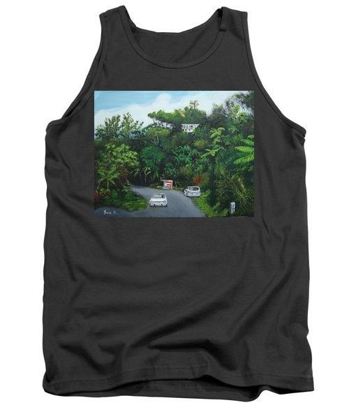 Traveling In Adjuntas Mountains Tank Top