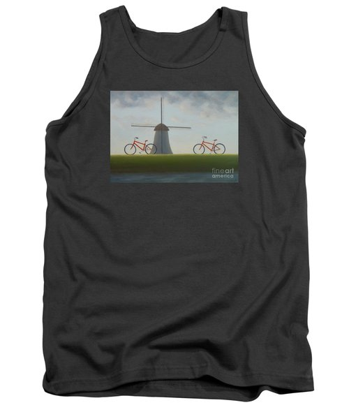 Traveling In Holland Tank Top