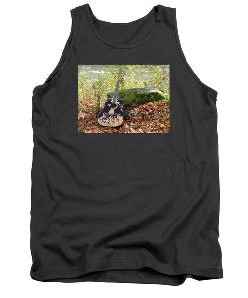 Traveling Musician Tank Top