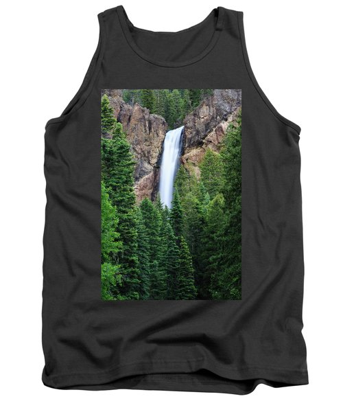 Tank Top featuring the photograph Treasure Falls by David Chandler