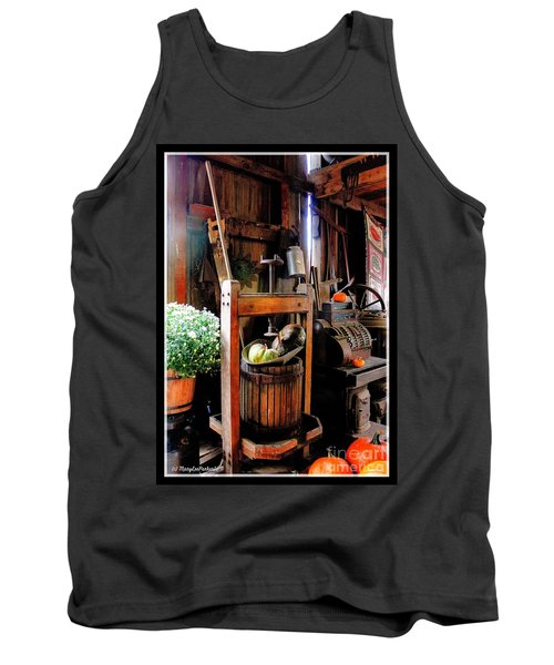 Treasures Of  Fall Tank Top by MaryLee Parker