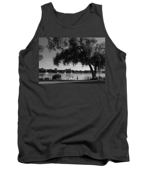 Tree At The Water Tank Top