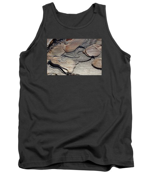 Tank Top featuring the photograph Tree Bark 2 by Jean Bernard Roussilhe