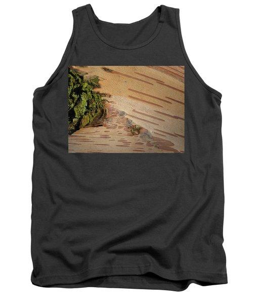 Tree Bark With Lichen Tank Top