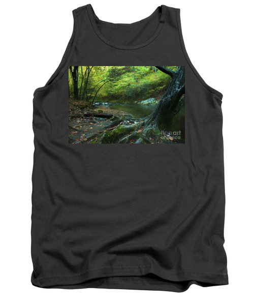 Tree By Water Tank Top by Lena Auxier