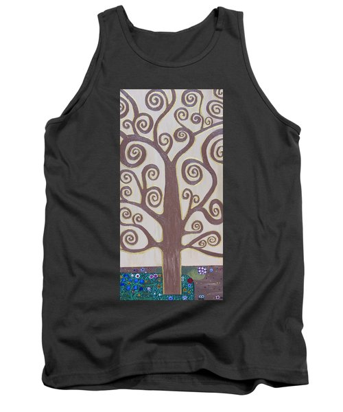 Tree Of Life Tank Top by Angelina Vick