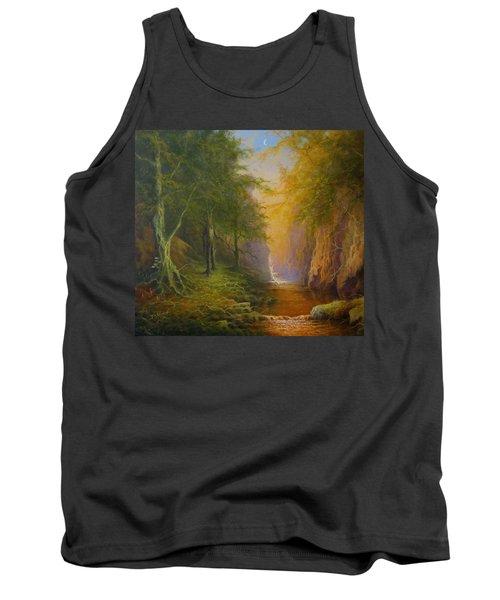 Fairytale Forest Tree Spirit Tank Top