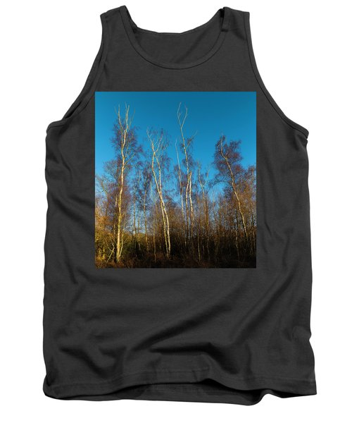Trees And Blue Sky Tank Top